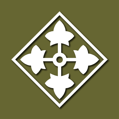 4th Infantry Division US Army Vinyl Decal Sticker VL4ID